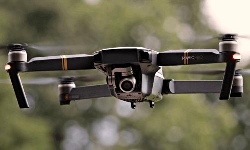 Une première collision entre un drone et un avion
